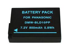 800mAh Akku für Panasonic Lumix DMC-G3 DMC-GF2 DMC-GX1 Serien DMW-BLD10E