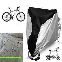 Bike Rainproof Cover Bicycle Dustproof Waterproof Protective Cover with Lockhole