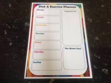 diet excercise planning sheet shopping planner diet plan ingredients weekly menu