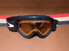 Vintage?  Oakley Ski Snowboard Snow Winter Goggles With O Strap Blue