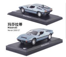MASERATI Merak 2000 GT Diecast Car Model 1:43