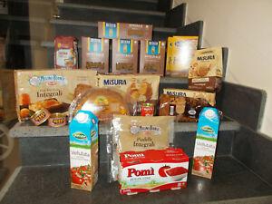20 Pz spesa alimentare INTEGRALE pasta riso pane biscotti farina colazione ecc