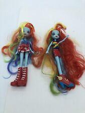 "My Little Pony Equestria Girl 11"" Dolls Lot of 2"