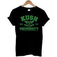 Kush University BUN THC 420 Weed Cannabis Drugs Marijuana 420 Men's T Shirt