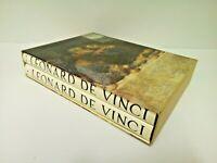 Leonardo De Vinci Box 2 Tomes Circle Of Bibliophile L. G. D. A.Italy 1958