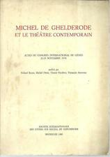 (DT) Michel de Ghelderode et le theatre contemporain Beyen Otten Nicoletti 1980