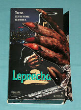 original LEPRECHAUN screening cassette/ video store promo counter display