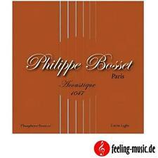 Philippe Bosset Acoustic Satz .010-.047 (Phosphor Bronze) (45% günstiger)