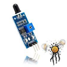 Esp8266 IR Fiamme Flame sensore modulo analogico digitale 760-1100nm 3.3-5v Arduino
