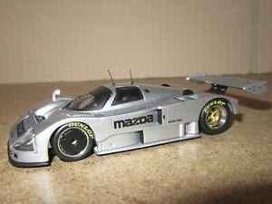 873Q IXO Models LMC127 Mazda 787B Test Version 1991 Silver 1:43
