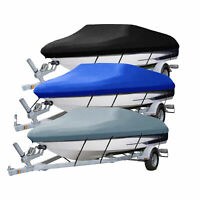 Bootspersenning Plane Persenning Wasserdicht V-Rumpf Bootsabdeckung Schutz