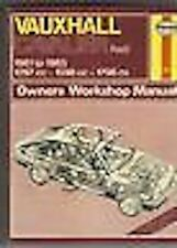 VAUXHALL CAVALIER 81-85 HAYNES WORKSHOP MANUAL