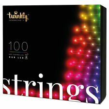 Twinkly 100 LED RGB Multicolor 26 ft Decorative String Lights, Bluetooth & WiFi