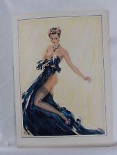 Boudoir Salon 1940s 50s  Decor Vintage print from photographers studio  nude .55