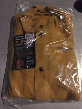 "Tillman X-Large 3280 30"" Brown Leather Premium Side Split Cowhide Welding Jacket"