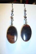 Obsidian Women Earring South American Jewellery