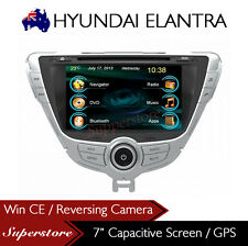"7"" Car DVD GPS Navigation Head Unit for HYUNDAI ELANTRA 2011-2013 MD MD2"