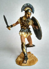 Tin Toy Soldier Hoplite, Athens 379 BC, Hand Painted Metal Miniature 1/32 54mm