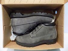 Women's Timberland Low Cut Boots Gray Nellie Chukka Graphite Nubuck Size 8.5