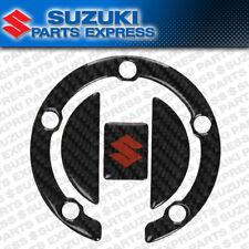 SUZUKI GSX-R GSXR 600 750 1000 HAYABUSA CARBON FIBER FUEL CAP TRIM 990A0-64073