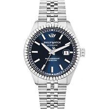 Orologio Philip Watch Caribe r8223597011 uomo watch acciaio automatico 39 mm blu