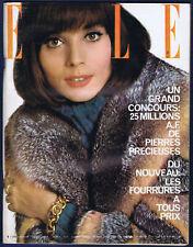 ▬►ELLE 986 / 1964  ELSA MARTINELLI_CATHERINE DENEUVE_BARDOT_MODE FASHION VINTAGE