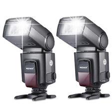 Neewer paquete de dos Tt560 Flash con brazo para Speedlite canon Nikon