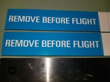 3x stickers jet, aircraft, airport, aviation, Remove Before Flight Boeing