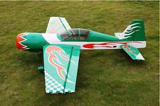 RC Airplane Gas 50cc Green 85in/2159mm YAK54 Wood 3D Aerobatic Model ARF