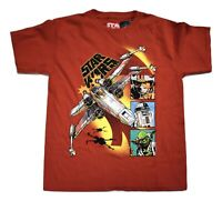 Star Wars Youth Boys Rebel X-Wing Fighter Shirt New Size M