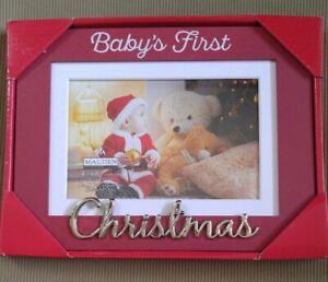 Malden 4x6/5x7 Babys First Christmas