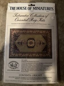 Dollhouse Carpet Rug Kit 42207 Tidewater Collection Oriental House of Miniatures