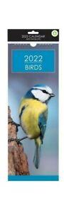 2022 Slim BIRDS Calendar - Birds 2022