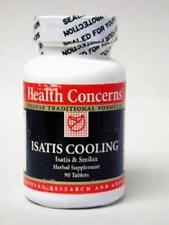 Health Concerns, Isatis Cooling Formula, 90 ct