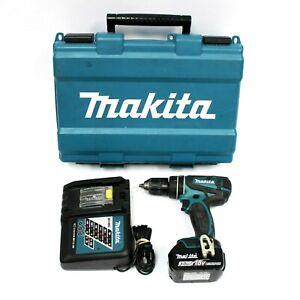 "Makita XPH01 18V LXT Li-Ion 1/2"" Hammer Driver Drill w/ 3.0Ah Battery & Case"