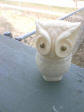 "Avon's ""Precious Owl"" Cream Sachet Bottle w/Moonwind - Circa 1972"