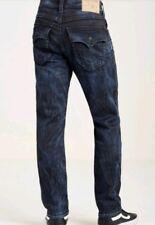 True Religion men Jeans Slim Flap Big T Stitch MY5E08ZW01 Sz:44 x 33 nwt new