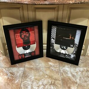2 VERY RARE Nipsey Hussle Million Record Sales Music Award Victory Lap TMC Vinyl