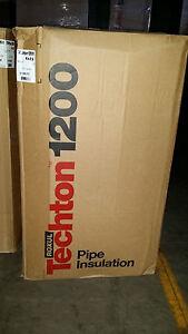 "Roxul Techton 1200 Pipe Insulation  4""x2.5""  9.840 Linear ft"