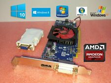 1GB 1024MB AMD Radeon HD Single Slot Full Height Size Length Video Graphics Card