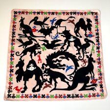 Vivienne Westwood Cotton Square/Scarf/Handkerchief/Bandana Orb/Animal Printed