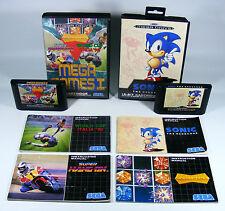 SONIC und MEGA GAMES 1 Paket für Sega Mega Drive - MD Modul + OVP + Anleitungen