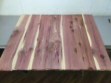 "7 Premium Eastern Red Cedar Aromatic 5 3/4"" Wide x 36"" Long Lumber Closet Liner"