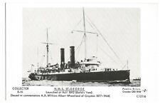 Modern Postcard HMS St George at Hull c.1892 Pamlin Prints   (B4l)