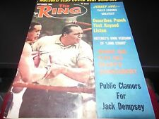 THE RING SEPT 1965 SONNY LISTON COVER BOXING MAGAZINE RARE COOL OK CONDITION