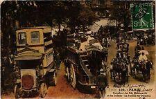 CPA PARIS 2e-Carrefour des Bds  Montmartre et des Italiens (321802)