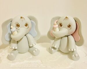 Elephant  Cake Topper,Baby Shower,Party