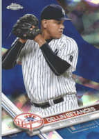 DELLIN BETANCES 2017 TOPPS CHROME SAPPHIRE EDITION #54 ONLY 250 MADE
