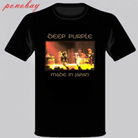 New Deep Purple *Made in Japan Rock Band Legend Men's Black T-Shirt Size S-3XL