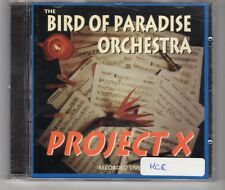 (HH518) The Bird Of Paradise Orchestra, Project X (Live) - 1996 CD